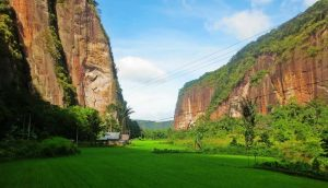 Tebing Lembah Harau, Sumatera Barat