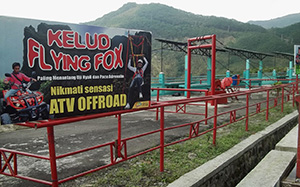 Flying Fox Gunung Kelud