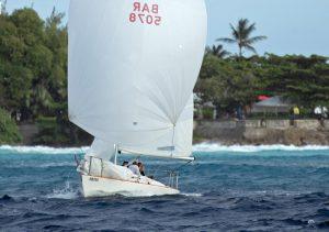 Kondisi mendebarkan untuk klasik Karibia Mount Gay Round Barbados