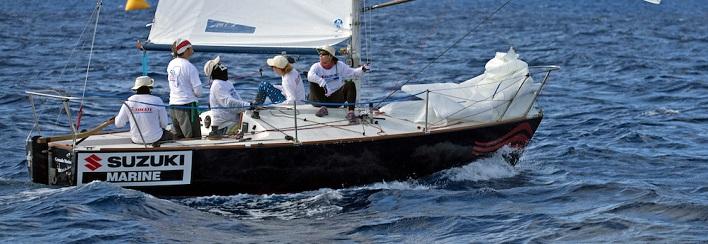 Barbados Sailing Week mempersiapkan acara utama J / 24s seri lengkap