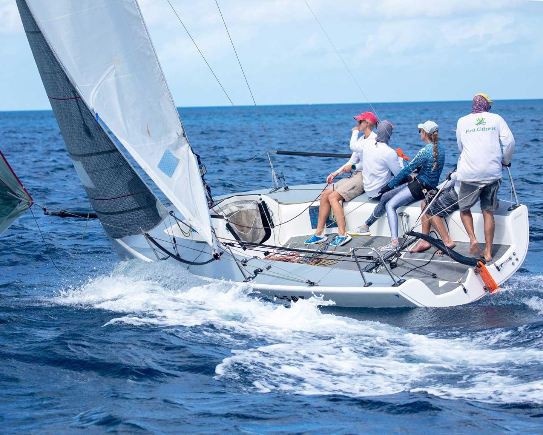 Keinginan Memecahkan Rekor Mount Gay Round Barbados Race
