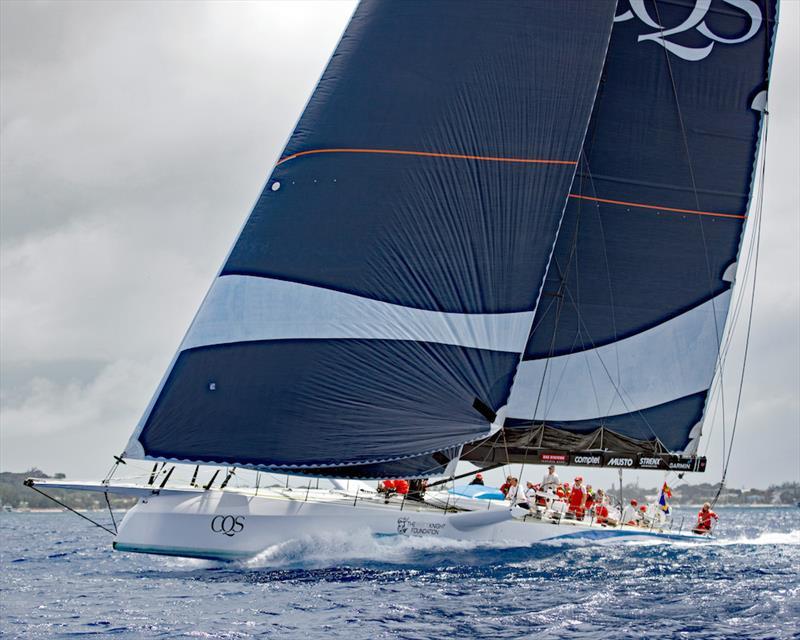 Mount Gay Round Barbados Race, Balapan sedang berlangsung dalam kondisi klasik