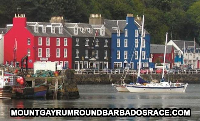 Galley Guys Menghadapi Balap Barbados Putaran Rum Gunung Gay