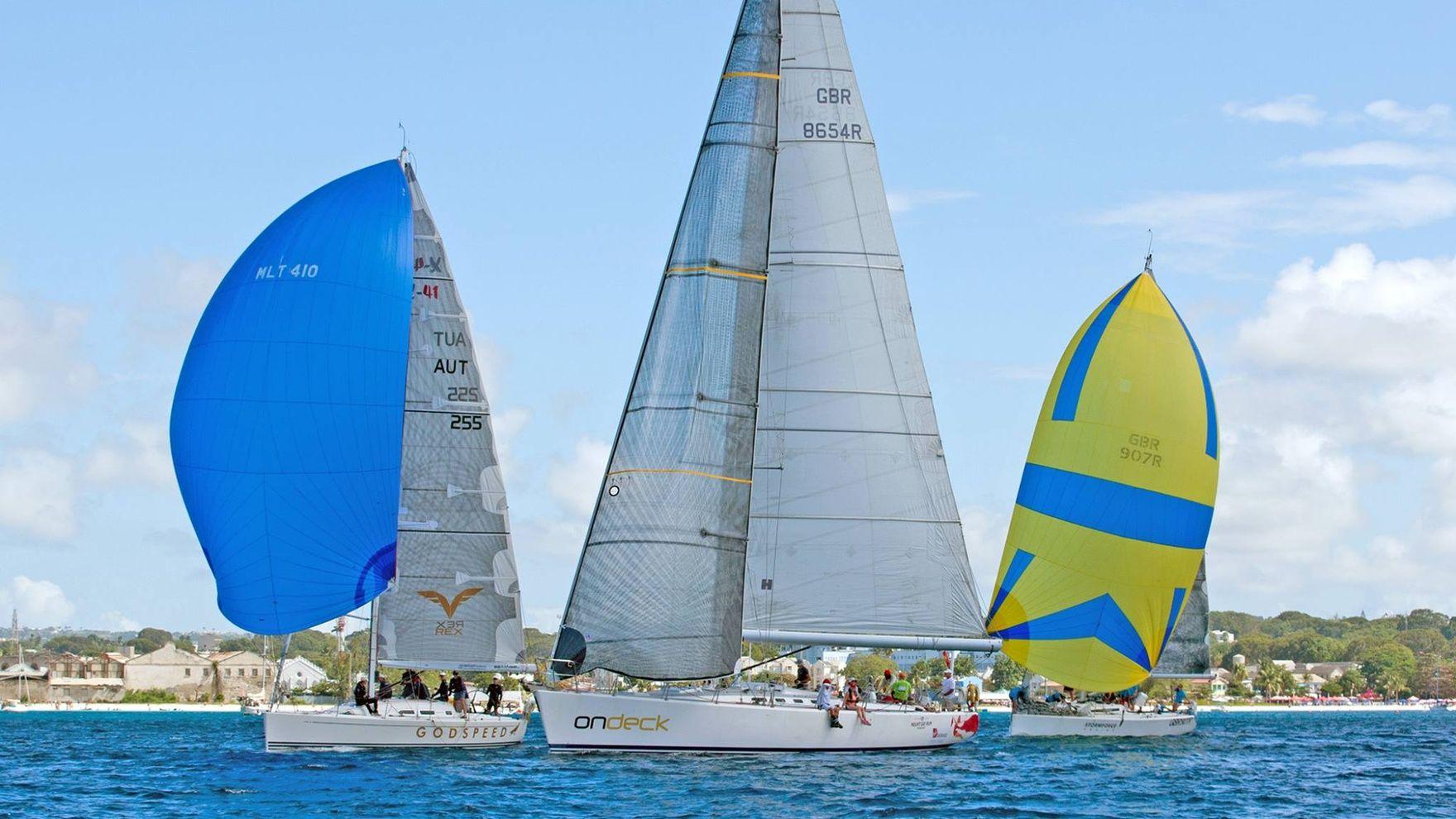Lari menit terakhir ke Barbados Sailing Week
